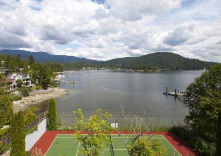 Waterfront Estate Spectacular 180 deg Views in Deep Cove, North Vancouver