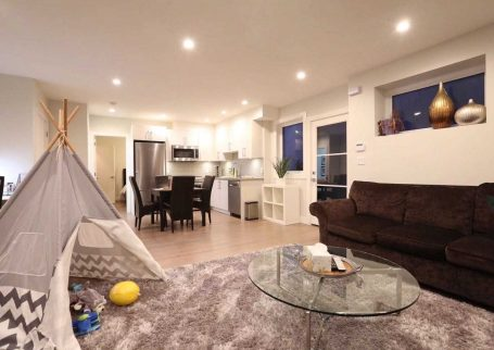 Fully furnished NEW & and stylish 1 BR, 1 Bath basement suite close to Edgemont