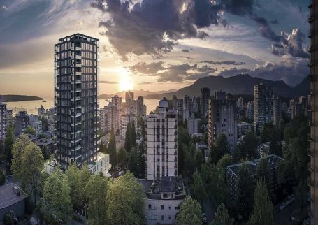 Brand New Luxury 2 BR corner unit at the Jervis, Downtown Vancouver