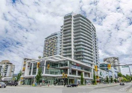Live in style in the luxurious corner unit in Centreview building on Lonsdale