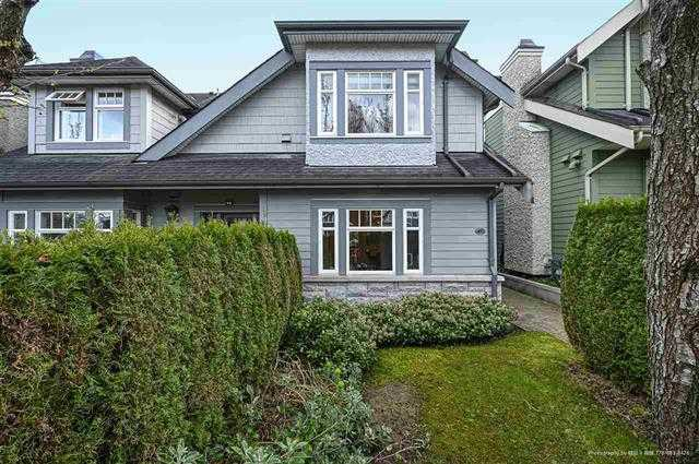 Beautiful 3 BR, 4 Bath townhouse in Point Grey